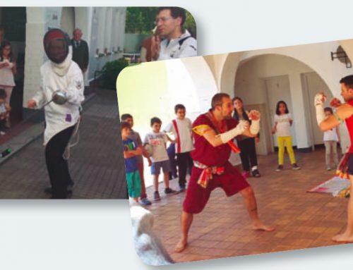 Impulsando  el  deporte  –  Colegio  Nazareth