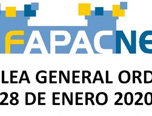 Asamblea General. Enero 2020